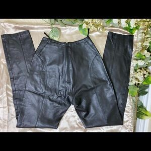 1980's Michael Hoban North Beach Leather pants 6